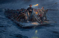 Why Is Washington Crossing The Delware Famous Painting