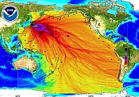 No, this is not radiation from Fukushima