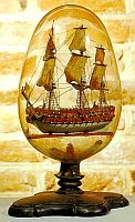 Ship in a bottle -- 1784