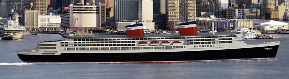 A rendering of the proposed redesign of the S.S. United States