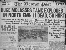 709568837135e9 One Hundred Years Ago Today — The Great Boston Molasses Flood of 1919